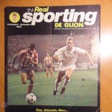 Coleccionismo deportivo: REAL SPORTING DE GIJON. AÑO 6. Nº 54. NOVIEMBRE - DICIEMBRE 1985. REVISTA CON FOTOGRAFIAS.. Lote 54373664