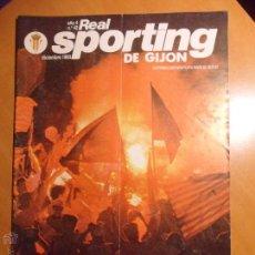 Coleccionismo deportivo: REAL SPORTING DE GIJON. AÑO 4. Nº 42. DICIEMBRE 1983. REVISTA CON FOTOGRAFIAS.. Lote 54374000