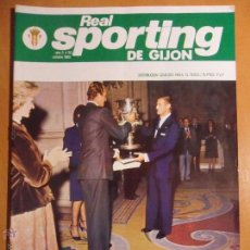 Coleccionismo deportivo: REAL SPORTING DE GIJON. AÑO 3. Nº 30. OCTUBRE 1982. REVISTA CON FOTOGRAFIAS.. Lote 54374754