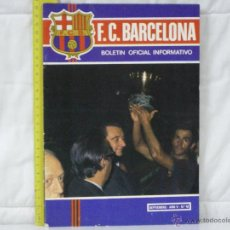 Collectionnisme sportif: FC BARCELONA (BARÇA) *** BOLETÍN OFICIAL INFORMATIVO Nº 42 *** SEPTIEMBRE AÑO V. Lote 227806780