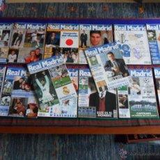 Coleccionismo deportivo: REVISTA MENSUAL REAL MADRID 66 69 74 75 79 85 86 97 99 101 105 108 109 114. 1995. REGALO Nº 38.. Lote 54410653