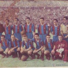 Coleccionismo deportivo: REVISTA PROGRAMA FC BARCELONA EL BARÇA DE LES CINC COPES - 1952-1953 - KUBALA FUTBOL. Lote 54456781