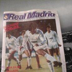Coleccionismo deportivo: REVISTA MENSUAL REAL MADRID FEFRERO 1985. Lote 51340165