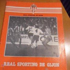 Coleccionismo deportivo: REAL SPORTING DE GIJON. REVISTA DEL 5 DE OCTUBRE DE 1980. REAL SPORTING DE GIJON - REAL ZARAGOZA.. Lote 54527857