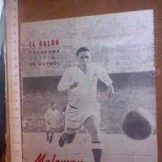 Coleccionismo deportivo: MOLOWNY REAL MADRID REVISTA EDITORIAL EL BALON 1954. Lote 54529330