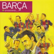 Coleccionismo deportivo: REVISTA OFICIAL DEL FUTBOL CLUB BARCELONA (EN CATALA) ++ AGOST-SETEMBRE 2014. Lote 54590838