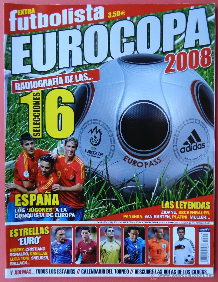 REVISTA FUTBOLISTA GUIA EURO 2008 EXTRA ESPECIAL EUROCOPA AUSTRIA SUIZA 2008 SELECCION ESPAÑOLA UEFA (Coleccionismo Deportivo - Revistas y Periódicos - otros Fútbol)