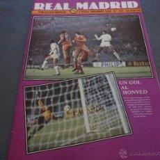 REAL MADRID Nº:366(NOVIEMBRE-80)LA LIGA,COPA EUROPA HONVED,CHENDO CON EL CASTILLA-FOTOS