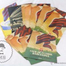 Coleccionismo deportivo - Conjunto de 13 Boletines del Club de Fútbol Barcelona - Años 1954, 1955 y 1956 - 55048714