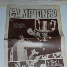 Coleccionismo deportivo: (M) REVISTA DICEN 20 ABRIL 1978 NUM 4099 - JOHAN CRUYFF LEVANTA LA COPA DEL REY FC BARCELONA. Lote 55555029