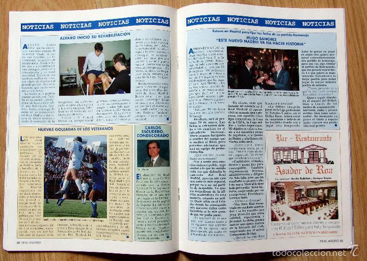 Coleccionismo deportivo: REVISTA REAL MADRID ENERO 1997 Nº 86 ILLGNER ALKORTA JOE ARLAUCKAS VICTOR - Foto 2 - 55889880