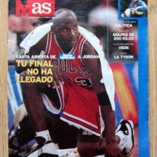 Coleccionismo deportivo: REVISTA AS 24 FEBRERO 1998 MICHAEL JORDAN BERND KRAUSS CHRISTY MARTIN POSTER VIERI ATLETICO MADRID. Lote 55890157