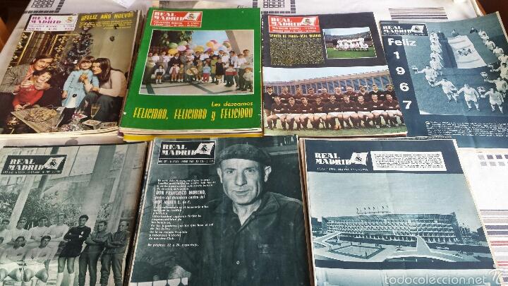 LOTE 41 REVISTA REAL MADRID 1964-65-66-67-68-69-70-74 FANTÁSTICO (Coleccionismo Deportivo - Revistas y Periódicos - otros Fútbol)