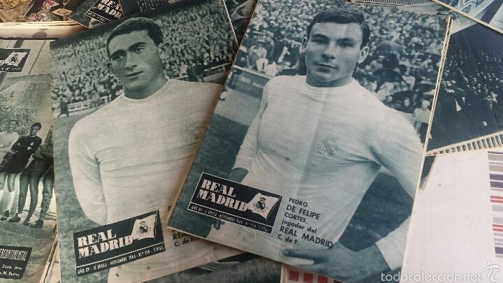 Coleccionismo deportivo: lote 41 Revista Real Madrid 1964-65-66-67-68-69-70-74 FANTÁSTICO - Foto 2 - 55908791