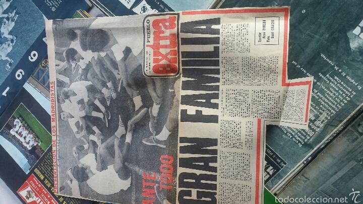 Coleccionismo deportivo: lote 41 Revista Real Madrid 1964-65-66-67-68-69-70-74 FANTÁSTICO - Foto 3 - 55908791