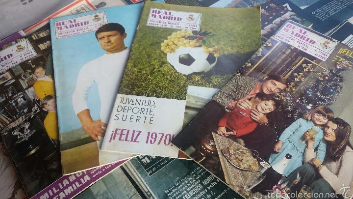Coleccionismo deportivo: lote 41 Revista Real Madrid 1964-65-66-67-68-69-70-74 FANTÁSTICO - Foto 4 - 55908791