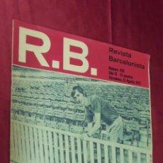 Collezionismo sportivo: RB REVISTA BARCELONISTA. Nº 438. 21- 8- 1973. CRUYFF HA LUCHADO A MUERTE PARA ABRIR ESTA PUERTA.. Lote 55914448