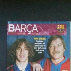 Coleccionismo deportivo: REVISTA BARÇA Nº 2-2003-FC BARCELONA-KLUIVERT-MIGUELI-PUYOL-GAMPER-VER FOTOS. Lote 55995859