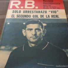 Coleccionismo deportivo: R.B.BARCELONISTA Nº:356(25-1-72) R.SOCIEDAD 2 BARÇA 2-FOTOS. Lote 56235779