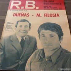 Coleccionismo deportivo: R.B.-REV.BARCELONISTA Nº: 360(22-2-72) AT.MADRID 1 BARÇA 1-FOTOS. Lote 56239405