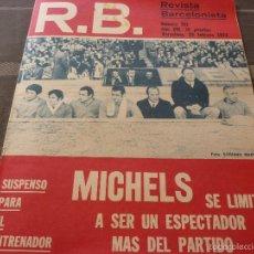 Coleccionismo deportivo: R.B.-REV.BARCELONISTA Nº: 361(29-2-72) BARÇA 2 BETIS 2-FOTOS. Lote 56239472
