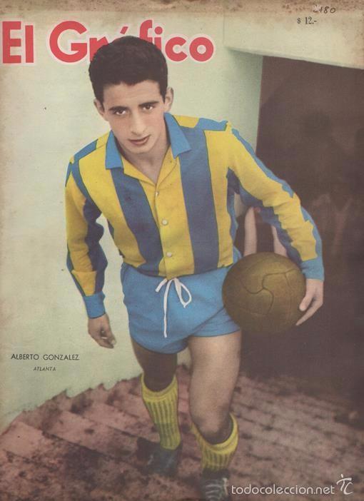 EL GRAFICO # 2180 ALBERTO GONZALEZ RIVER PLATE VS SEVILLA REAL MADRID NAPOLI INTER JUVENTUS (Coleccionismo Deportivo - Revistas y Periódicos - otros Fútbol)