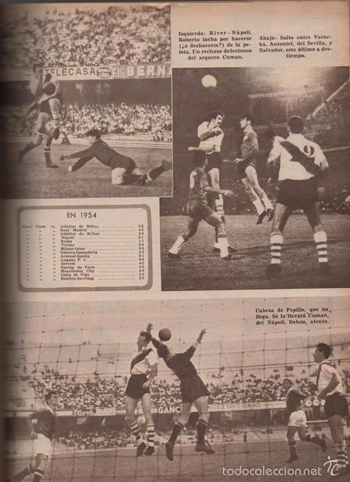 Coleccionismo deportivo: EL GRAFICO # 2180 ALBERTO GONZALEZ RIVER PLATE VS SEVILLA REAL MADRID NAPOLI INTER JUVENTUS - Foto 3 - 56244937