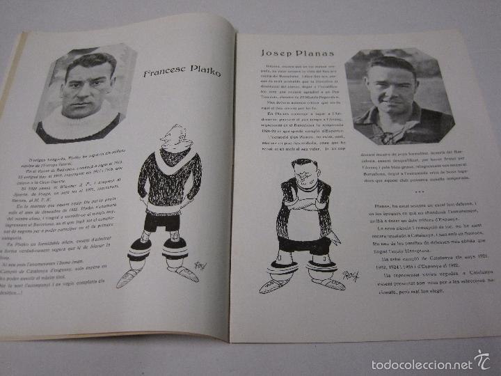 Coleccionismo deportivo: JOVENTUT CATALANA - HOMENATGE F.C. BARCELONA- AÑO 1925 -PLATKO-WALTER-SAMITIER-VER FOTOS - (V-5289) - Foto 5 - 56351169