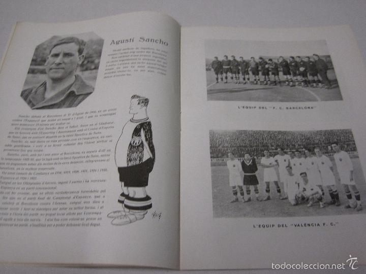 Coleccionismo deportivo: JOVENTUT CATALANA - HOMENATGE F.C. BARCELONA- AÑO 1925 -PLATKO-WALTER-SAMITIER-VER FOTOS - (V-5289) - Foto 7 - 56351169