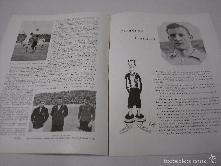 Coleccionismo deportivo: JOVENTUT CATALANA - HOMENATGE F.C. BARCELONA- AÑO 1925 -PLATKO-WALTER-SAMITIER-VER FOTOS - (V-5289) - Foto 9 - 56351169