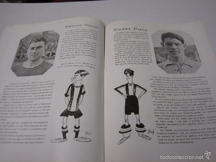 Coleccionismo deportivo: JOVENTUT CATALANA - HOMENATGE F.C. BARCELONA- AÑO 1925 -PLATKO-WALTER-SAMITIER-VER FOTOS - (V-5289) - Foto 10 - 56351169