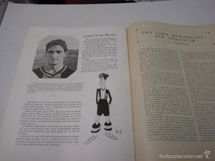 Coleccionismo deportivo: JOVENTUT CATALANA - HOMENATGE F.C. BARCELONA- AÑO 1925 -PLATKO-WALTER-SAMITIER-VER FOTOS - (V-5289) - Foto 12 - 56351169