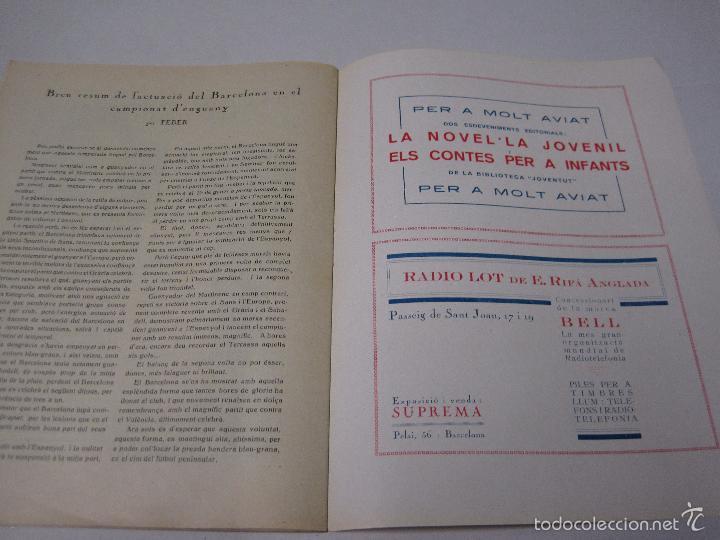 Coleccionismo deportivo: JOVENTUT CATALANA - HOMENATGE F.C. BARCELONA- AÑO 1925 -PLATKO-WALTER-SAMITIER-VER FOTOS - (V-5289) - Foto 13 - 56351169