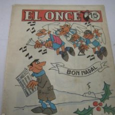 Coleccionismo deportivo: EL ONCE - F.C. BARCELONA- NAVIDAD 1965 - VIDAL - (V-5295). Lote 56352441