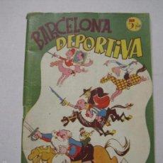 Coleccionismo deportivo: BARCELONA DEPORTIVA - F.C. BARCELONA- ALMANAQUE AÑO 1948 - MUNTAÑOLA -(V-5298). Lote 56369205