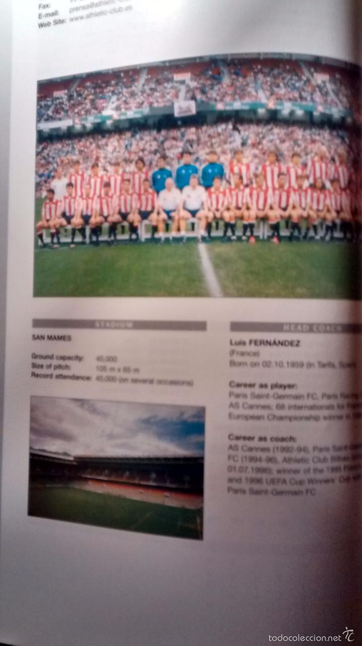 Coleccionismo deportivo: GUIA OFICIAL DE LA CHAMPIONS LEAGUE (1998/1999) - Foto 2 - 26397396