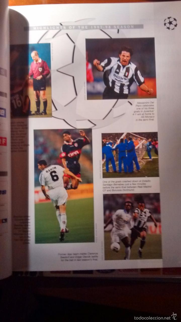 Coleccionismo deportivo: GUIA OFICIAL DE LA CHAMPIONS LEAGUE (1998/1999) - Foto 3 - 26397396