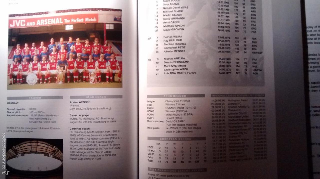 Coleccionismo deportivo: GUIA OFICIAL DE LA CHAMPIONS LEAGUE (1998/1999) - Foto 4 - 26397396