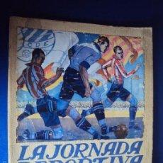Coleccionismo deportivo: (F-1455)ATHLETIC CLUB BILBAO-EUROPA LA JORNADA DEPORTIVA-NUMERO EXTRAORDINARIO CAMPEONATO DE ESPAÑA. Lote 56461923