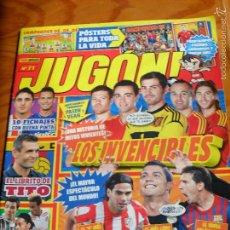 Coleccionismo deportivo: JUGON Nº 71 - LIGA 2012 - + POSTER INIESTA & Y SELECCION ESPAÑOLA CAMPEONES EUROCOPA .. Lote 56570490