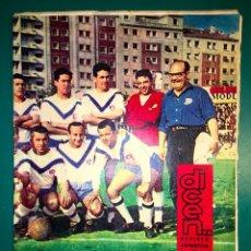 Coleccionismo deportivo: REVISTA DEPORTIVA DICEN NUMERO 543 14 DE JUNIO 1963 PORTADA L´EUROPA A SEGONA. Lote 56575770