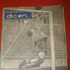 Coleccionismo deportivo: ANTIGUA REVISTA DEPORTIVA DICEN Nº 40, BARCELONA JUNIO 1953, EL PRIMER CASO DE DI STEFANO. Lote 56736785