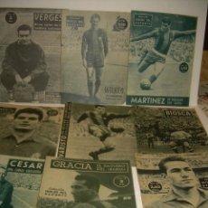 Coleccionismo deportivo: NUEVE REVISTAS IDOLOS DEL DEPORTE.. Lote 56857276