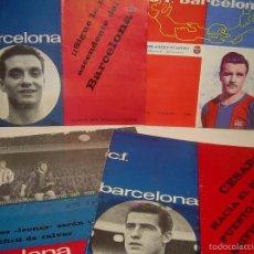 Coleccionismo deportivo: CUATRO REVISTAS....C.F. BARCELONA.. Lote 56857530