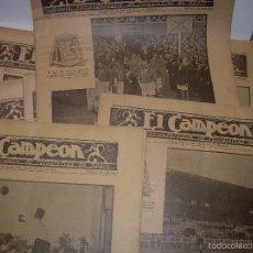 Coleccionismo deportivo: ONCE REVISTAS....DE..EL CAMPEON.. Lote 56857642