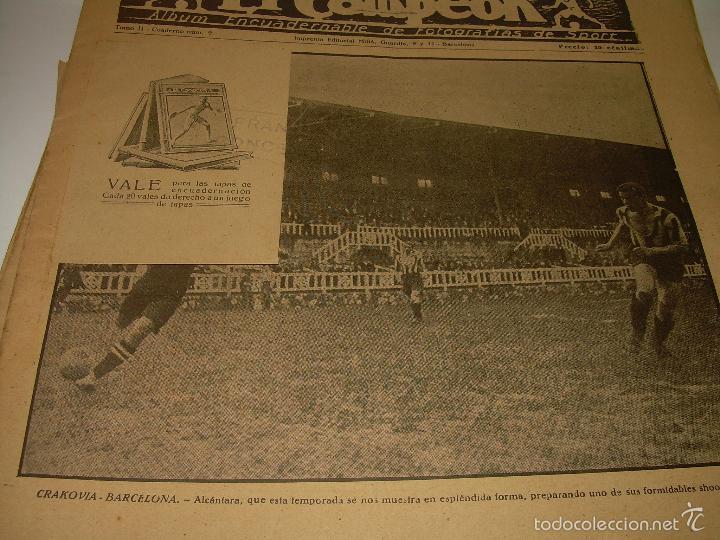 Coleccionismo deportivo: ONCE REVISTAS....DE..EL CAMPEON. - Foto 3 - 56857642