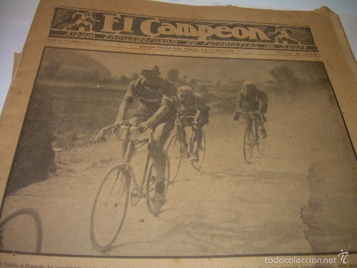Coleccionismo deportivo: ONCE REVISTAS....DE..EL CAMPEON. - Foto 7 - 56857642
