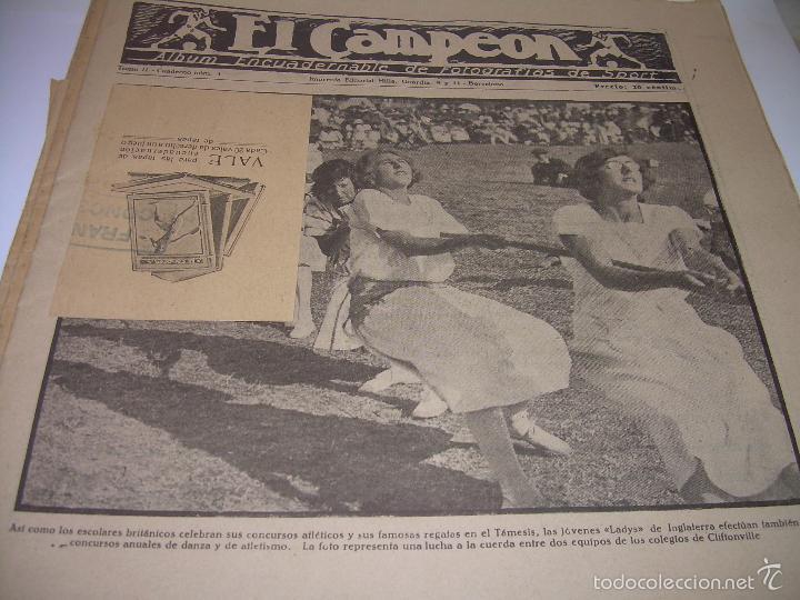 Coleccionismo deportivo: ONCE REVISTAS....DE..EL CAMPEON. - Foto 9 - 56857642