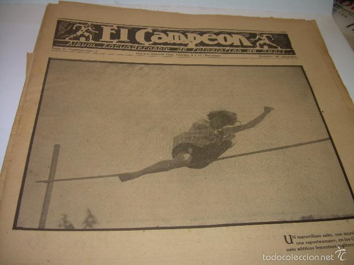 Coleccionismo deportivo: ONCE REVISTAS....DE..EL CAMPEON. - Foto 10 - 56857642