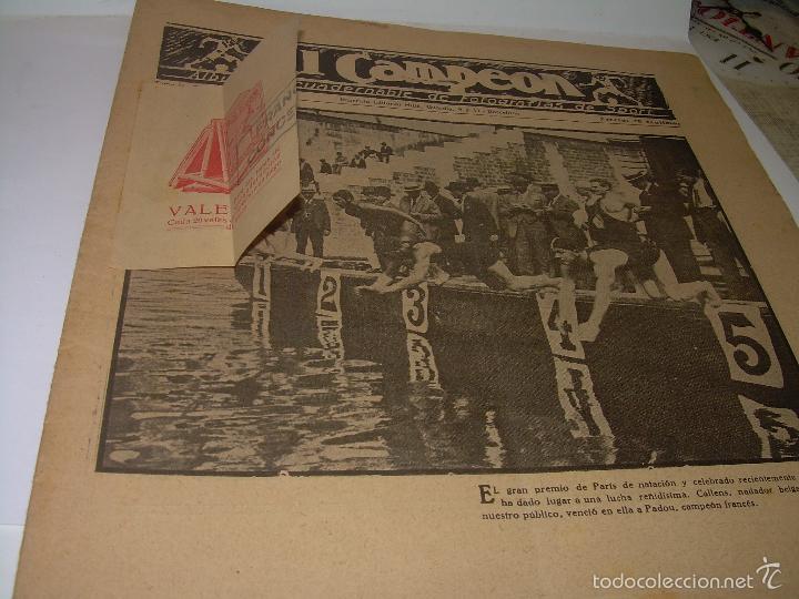 Coleccionismo deportivo: ONCE REVISTAS....DE..EL CAMPEON. - Foto 12 - 56857642